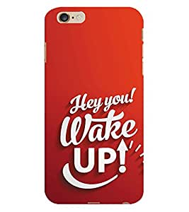 Kingcase Printed Back Case Cover For Apple I Phone 6S - Multicolor