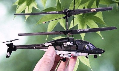 Black Hawk Wolf Mini Helicopter