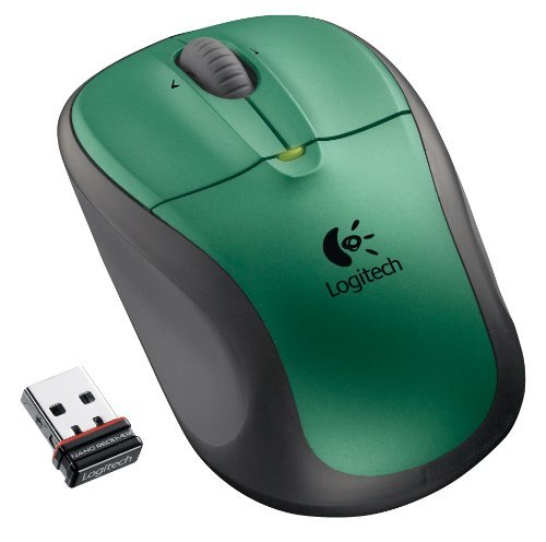 Logitech M305 Forest Green 3 Buttons Tilt Wheel Wireless Optical Mouse