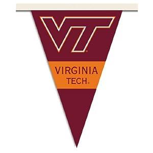 Buy NCAA Virginia Tech Hokies 25 Foot Party Pennant Flags by BSI