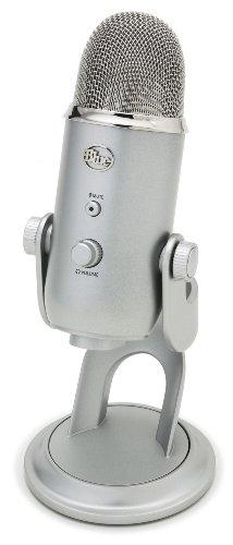 Blue Microphones Yeti Microfono Condensatore USB, Argento