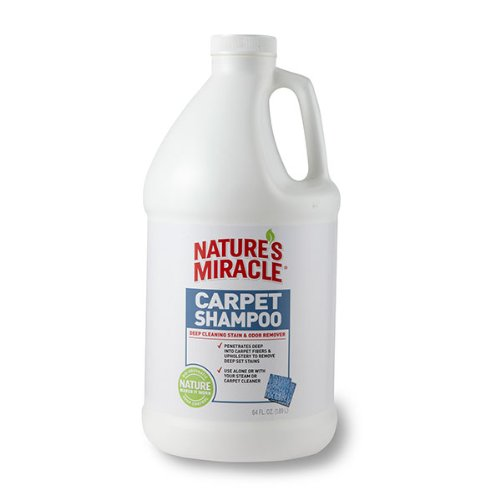 Nature'S Miracle Deep Cleaning Carpet Shampoo 64Oz (1/2 Gallon)