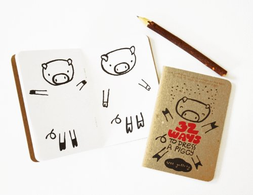 Wee Gallery Activity Book, 32 Ways to Dress a Pig