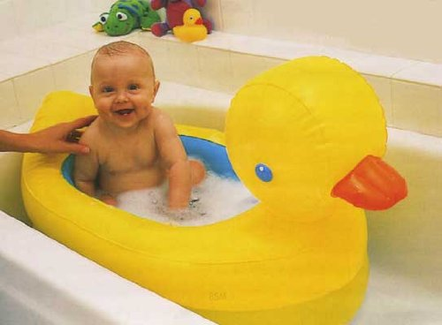 Munchkin Inflatable Safety Duck Tub EBay