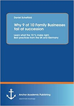 Why 9 Of 10 Family Businesses Fail At Succession: Learn What The 10 % Make Right. Best Practices From The UK And Germany