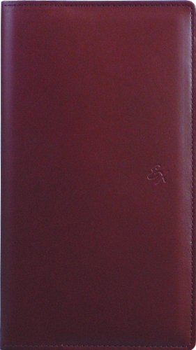 2011年版 生産性手帳 No.58 エクセレンス本革M (ワインレッド)