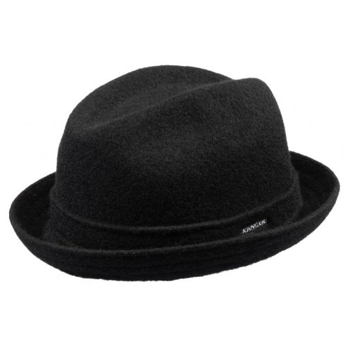 Kangol Wool Player cappello in lana forma player S/54-55 - nero