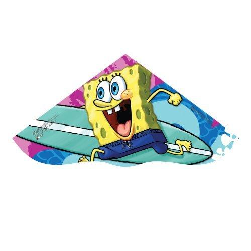 Sky Delta 42-inches Poly Delta Kite: Sponge Bob