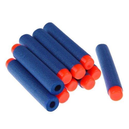 imbs-foam-nerf-blaster-refill-bullets-flexible-soft-fun-darts-for-toy-gun-blaster-10-pcs-in-blue