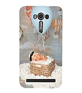 Vizagbeats baby baloon ride Back Case Cover for Asus Zenfone 2 Laser ZE550KL::Asus Zenfone 2 Laser ZE550KL (5.5 Inches)