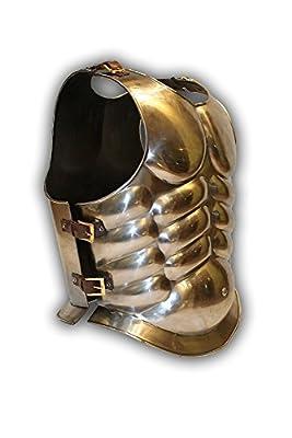Medieval Roman Greek Muscle Body Armor Cuirass 16 Guage