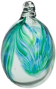 Kitras Mini Easter Egg Glass Ornament, Oceania