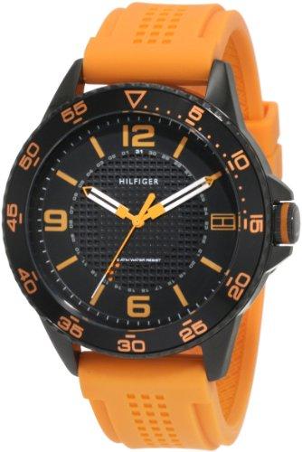 tommy-hilfiger-mens-1790837-sport-black-ip-case-with-orange-silicon-strap-watch