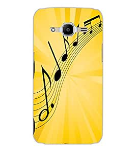 SAMSUNG GALAXY J2 2016 MUSIC Back Cover by PRINTSWAG