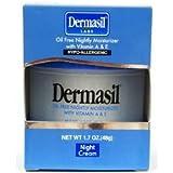 Dermasil Oil Free Nightly Moisturizer with Vitamin A & E 1.7oz.