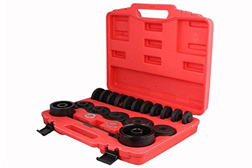 TMS FWDBearingToolKit-DN-(23PC) Front Wheel Drive Bearing Removal Adapter Puller Pulley Tool Kit with Case, 23 Piece (FWD) (Wheel Bearing Removal compare prices)