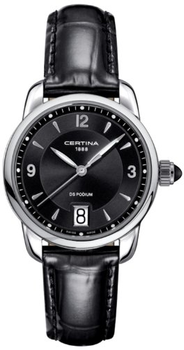 Certina Ladies 'Watch XS Analog Quartz Leather c025.210.16.057.00