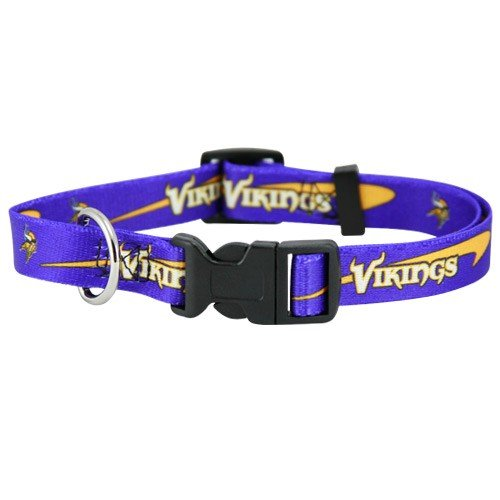Minnesota Vikings Purple Pet Collar