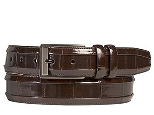 Mezlan Mens Ao10227 Belt , Brown, 34 Medium (AO10227)