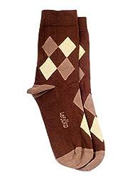 Lefjord Cotton Enriched Premium Men'S Socks_1108LMS_BR