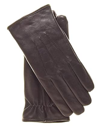 Fratelli Orsini Everyday Men's Italian Lambskin Cashmere Lined Winter Leather Gloves Size XXL Color Brown