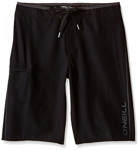 O'Neill Big Boys Hyperfreak Solid Boardshort, Black, 25