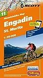 MTB-Karte 11 Engadin - St. Moritz 1:50.000: Mountainbike Map