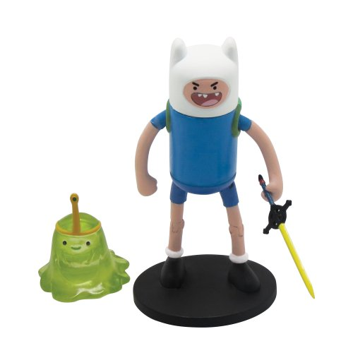 "Adventure Time Finn 3"" Action Figure with Slimeprincess Accessories - 1"