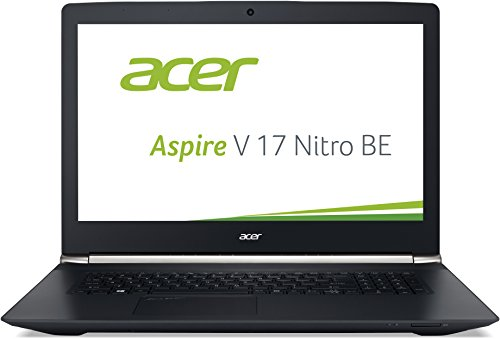 Acer Aspire V 17 Nitro Black Editon VN7-792G-70JV 43,9 cm (17,3 Zoll Full HD) Notebook (Intel Core i7-6700HQ, 8GB DDR4-RAM, 1TB HDD, 256GB SSD, NVIDIA GeForce GTX 960M, DVD, Win 10 Home) schwarz