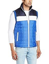 People Mens Synthetic Jacket (8903880827106_P10102118508219_Medium_Cobalt)