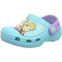 Crocs Disney Frozen Girls Clog - Pool