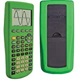 Guerrilla Silicone Case for Texas Instruments TI-83 Plus Graphing Calculator, Green