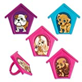 Puppy in my Pocket Cupcake Rings - 12 ct