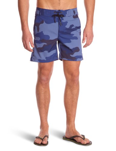 G-Star Raw RCO Cargo Cam Men's Swim Shorts Dark Dolphin Blue Large - 21.131.81162A.4979.190.0.L