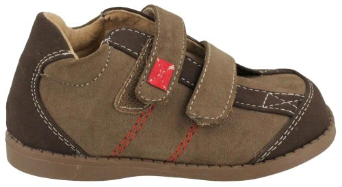Footmates Sam,Brown,5.5 M Us Toddler front-197391