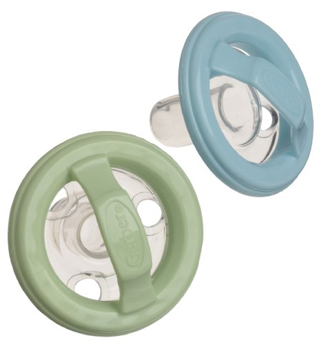 Gerber First Essentials 2 Pack Natural Flex Pacifier, Colors May Vary front-982209