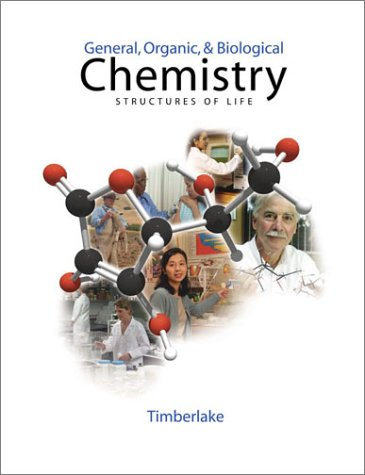General, Organic, and Biological Chemistry (With CD-ROM)