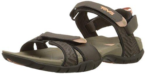 Teva Women's Numa Print W Sandal,Brown,8 M US (Women Outdoor Sandals compare prices)