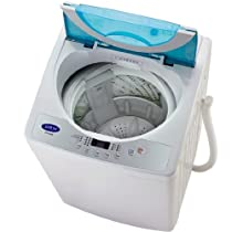 Sonya Compact Portable Apartment Small Washing Machine Washer 1.65cuft./13lbs/free Casters Included