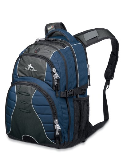 High Sierra Swerve Pack (Navy/Charcoal/Black)