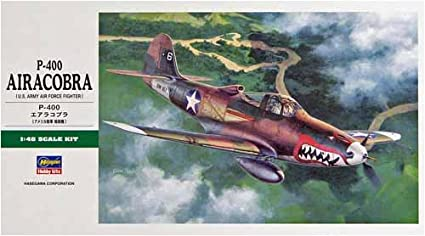Maquette avion: P-400 Airacobra