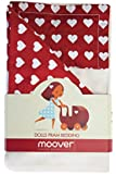 Moover Dolls Pram Bedding Set - Red