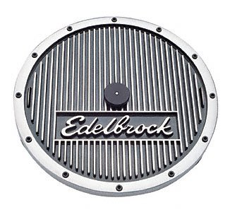 Edelbrock 4221 Elite Series Aluminum Round Air Cleaner