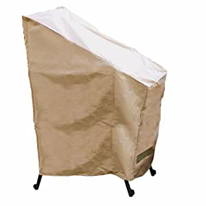 Hearth Garden Sf40222 Stack Of Chair Covers Patio Chair Covers Patio Lawn
