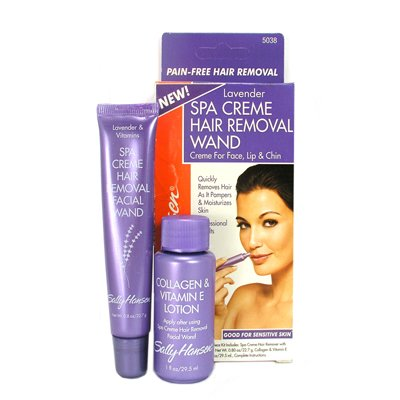 Cheapest Sally Hansen Spa Creme Hair Removal Wand Lavender 2 Piece Kit by Sally Hansen - Free Shipping Available