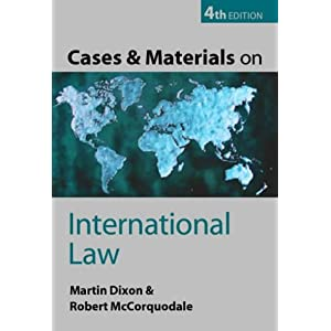 Cases and Materials on International Law (Paperback)