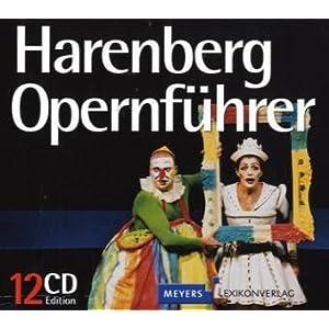 Harenberg Opernführer. 12 CDs . Mit 201 Aufnahmen