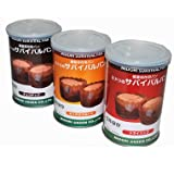 備蓄保存用 サバイバル食用パン2 非常食 (ミックスフルーツ)