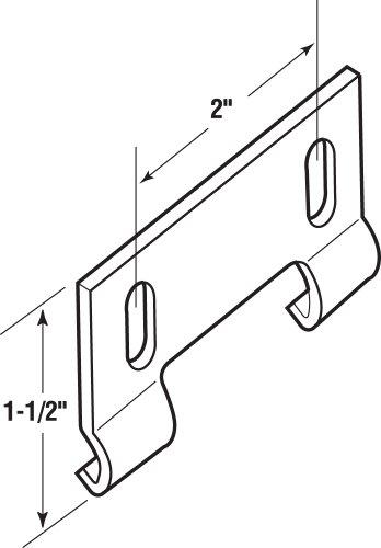Prime Line Products M 6191 Shower Door Bottom Hook Guide