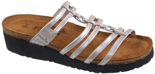 Naot Women's Betty Sandals,Quartz Leather,39 M EU